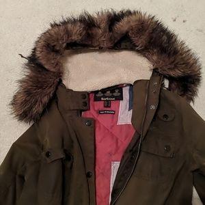Barbour sz 12 jacket